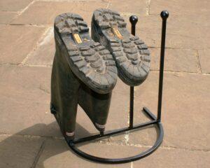 Metal Wellington Boot Rack