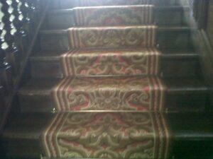Brass stairrods