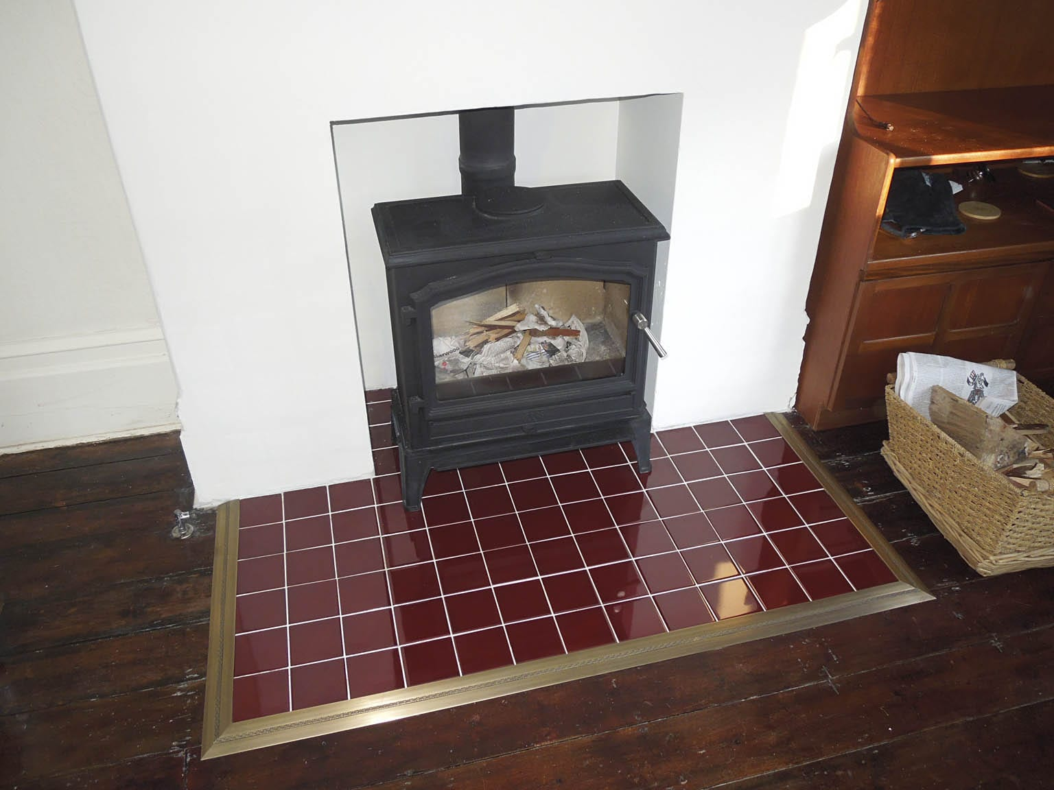 How To Create A Trim Around Fireplace page Carpetrunners