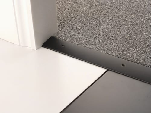 Black flooring trim - Premier Cover plate
