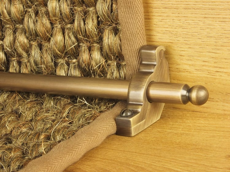 Premier stair rod available online from Carpetruners.co.uk