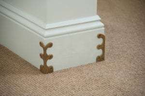 avoiding scuff marks on skirting