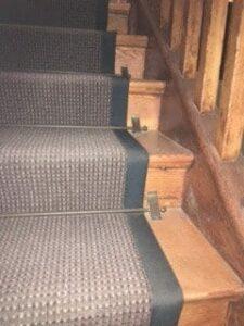 Vintage stair rods