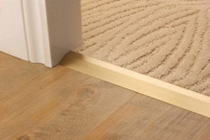Premier compressionn ramp satin brass