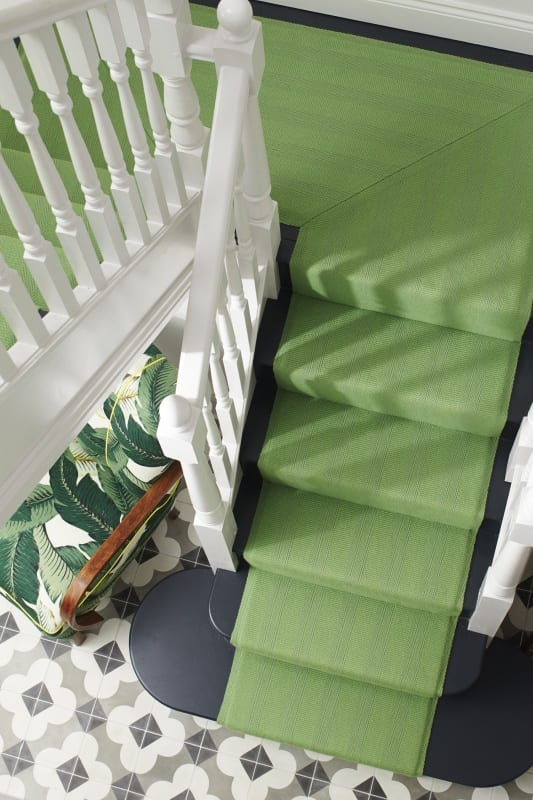 New Hadley Lime runner picks up on the 'greenery' colour of 2017