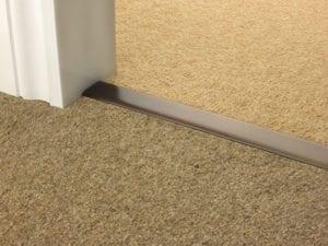 carpet joins in antique bronze