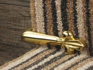 Carpet-stair-clip-polished-brass