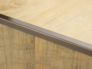 Premier Lips flooring trim, step edging, Bronze