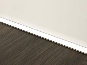 Premier Littel Lips flooring trim, step edging, Chrome