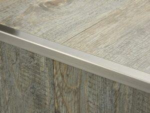 Premier Lips flooring trim, step edging, Pewter