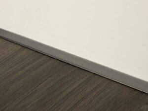 Premier Little Lips flooring trim, step edging, pewter