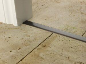 Premier T bar bar, 25mm wide, connecting strip between tiled floors, quality antique bronze