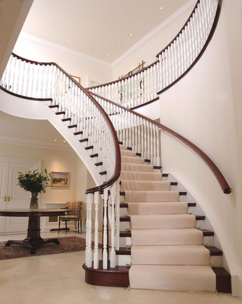 Eastern Promise Dubai stair rod for grand staircases