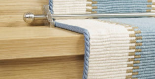 Quality stair carpet rods to transform a staircase