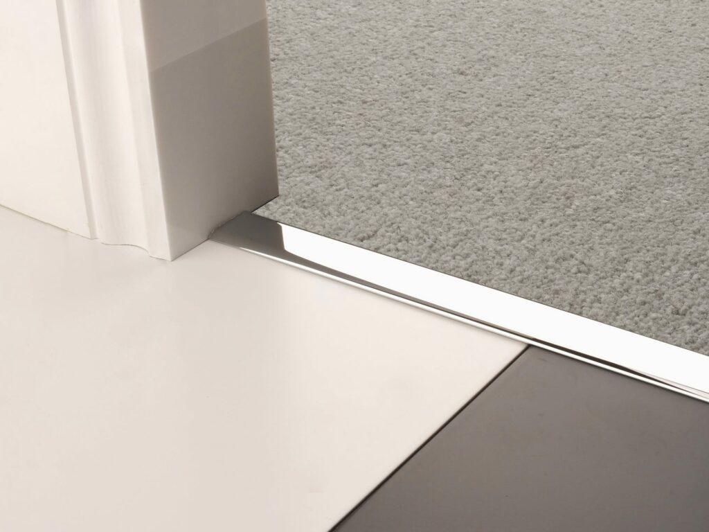 Premier Z chrome floor edging