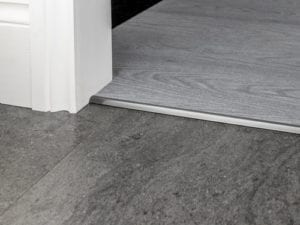 vinyl floor tirm KLVT bevel Cap in pewter