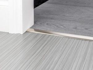 Premier DoubleZ4 door threshold for joining low pile carpet