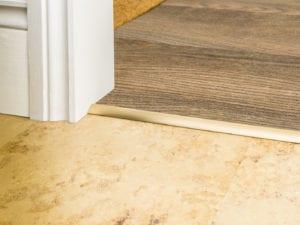 carpet bar for stick down carpet Premier Single 4 satin brass