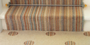What length stair rods do I need for my stair runner?