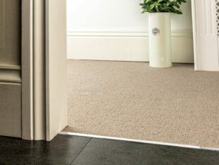z bar for joining carpets chrome finish