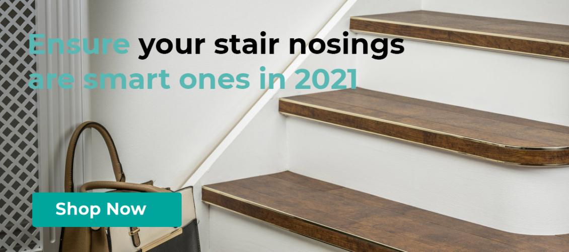 Stair nosings bendybull for edge of stairs