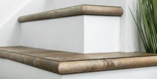 New 1-metre-long stair edge nosing for laminate and vinyl flooring