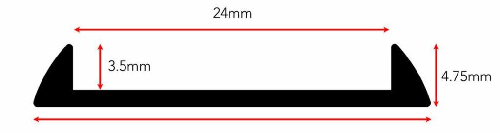 laminate door threshold fitting diagram