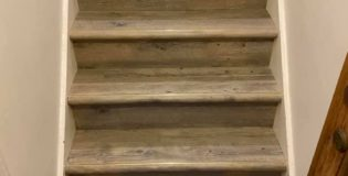 What's the Best Stair Edging to Use on a LVT Covered Staircase?