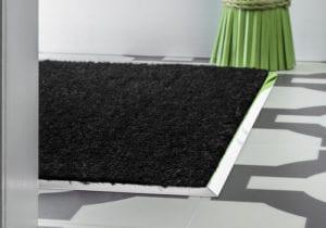Door mat surround in chrome