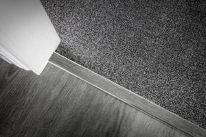 carpet threshold for joining to laminate in chrome