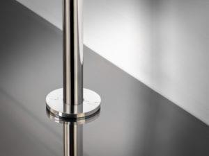 Sphere radiator pipe cover chrome