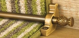 Button to buy stair rods and carpet rods