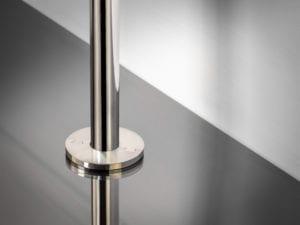 pipe covers radiator in round shape around pipe satin nickel